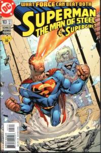 Superman: The Man of Steel #103, NM + (Stock photo)