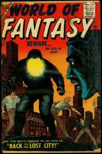 World of Fantasy #5 1957- Altas Horror- Bob Powell Reading Copy