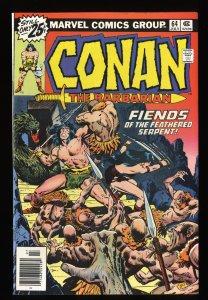 Conan The Barbarian #64 VF/NM 9.0 Marvel Comics