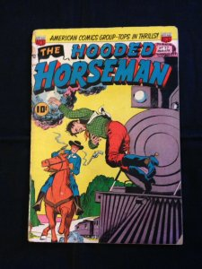 The Hooded Horseman, #22, March 1952, AGC