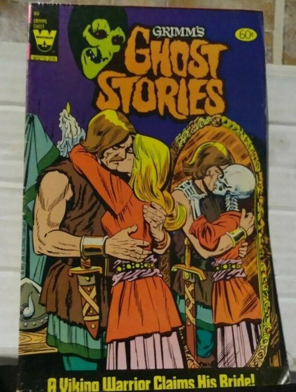 grimms ghost stories #60 1982 whitman western publishing warrior viking