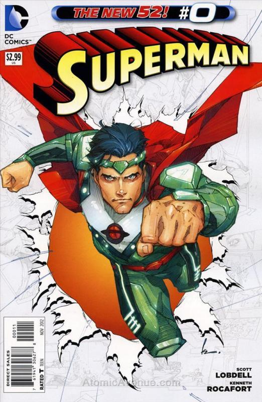 Superman (3rd Series) #0 VF/NM; DC | save on shipping - details inside