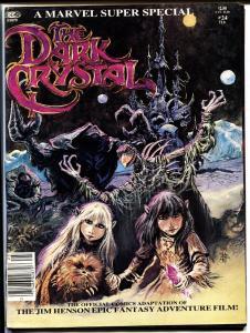 Marvel Super Special #24-DARK CRYSTAL-1982-Magazine-Comic