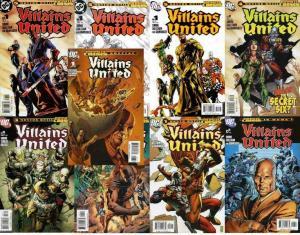 VILLAINS UNITED (2005) 1,1A-1C,2-6,SP  COMPLETE+++ COMICS BOOK