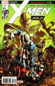 X-Men Gold #21 (Marvel, 2018) NM
