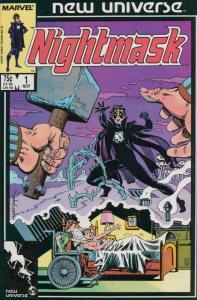 Nightmask #1 FN; Marvel   save on shipping - details inside