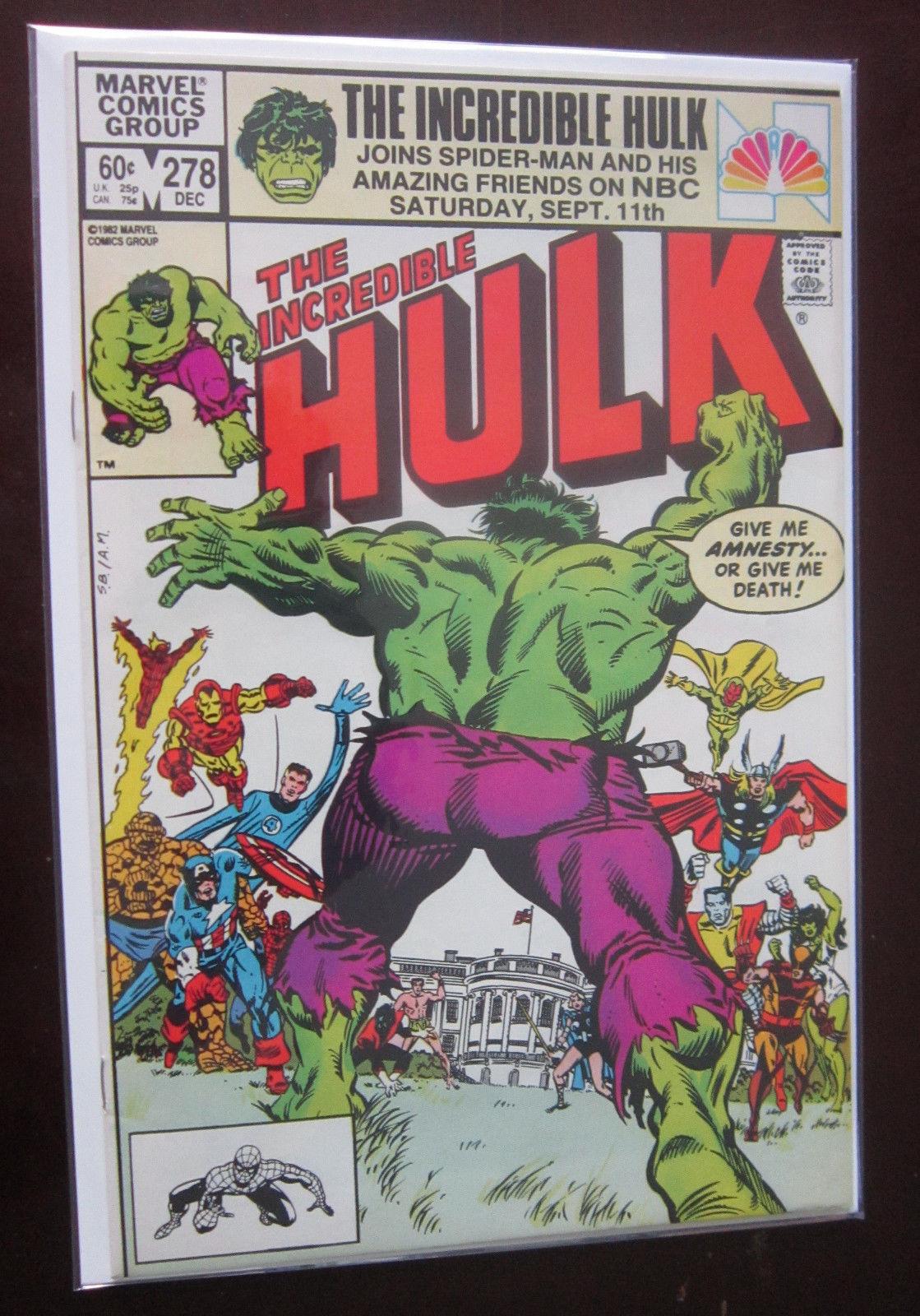 Incredible Hulk (1982 1st Series) #278, DIR, 8 5/VF+ / HipComic