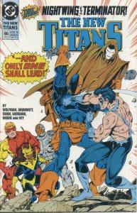 New Titans #86, NM (Stock photo)