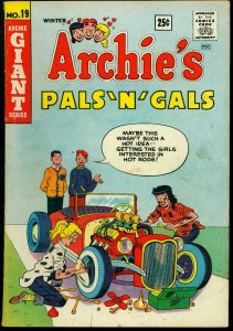 Archie's Pals 'n' Gals #19 1962- Hot Rod cover- Betty & Veronica G/VG