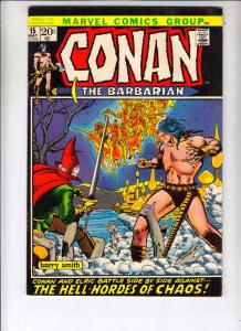 Conan the Barbarian #15 (May-72) FN/VF Mid-High-Grade Conan the Barbarian