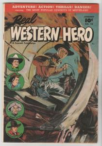 Real Western Hero #74 (Jan-49) VF/NM High-Grade Hopalong Cassidy, Monte Hale,...