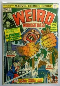 Weird Wonder Tales #1, 2.5 (1973)