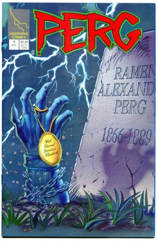 PERG #4, VF/NM, 1st Hellina, Lightning, Zyskowski,1994, more Variant in store