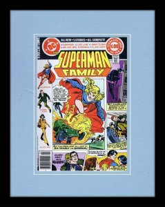 Superman Family #199 DC Framed 11x14 Repro Cover Display Supergirl Lois Lane
