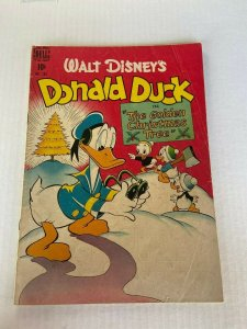 DELL Four Color 203 VG Donald Duck The Golden Christmas Tree Barks (Dec. 194