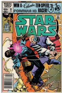 STAR WARS 56 F-VF Feb. 1982