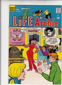 Life with Archie #94 (Feb-70) FN/VF+ High-Grade Archie, Jughead, Betty, Veron...