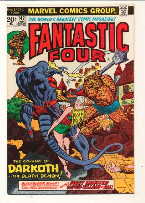 Fantastic Four (1961 series) #142, VF+ (Actual scan)