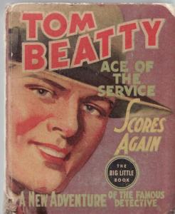 TOM BEATTY ACE OF THE SERVICE SCORES AGAIN-WHITMAN-1165 G/VG