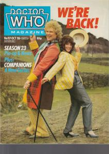 Doctor Who Magazine No. 117 October 1986