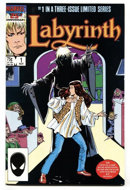 Labyrinth #1 1986-First issue-Marvel-David Bowie
