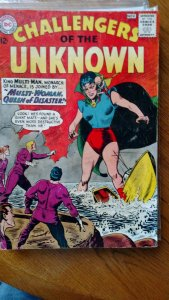 CHALLENGERS OF THE UNKNOWN #34(DC,1963) Condition VG
