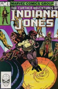 Further Adventures of Indiana Jones, The #2 FN; Marvel | save on shipping - deta