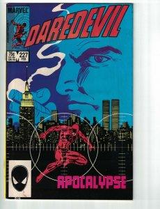 Daredevil #227 VG frank miller's born again begins - kingpin  david mazzucchelli