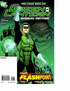 Lot Of 2 DC Comic Books Green Lantern Special and Girfter #0 Batman MS20