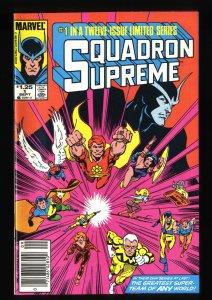 Squadron Supreme #1 NM+ 9.6