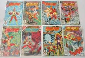 Firestorm comic lot 2nd series from:#1-97 80 different 6.0 FN (1982-90)