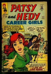 Patsy and Hedy #101 1965- Marvel Romance- Paper Dolls-VG