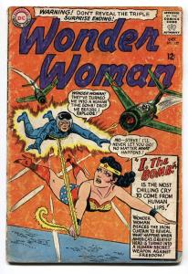 WONDER WOMAN #157 comic book 1965-DC-COMMIES-RUSSIAN MIG ATTACK- g+