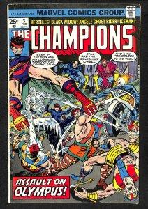 The Champions #3 (1976)