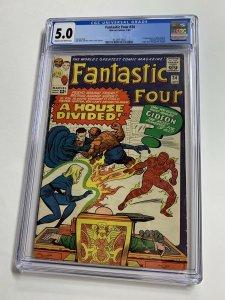 Fantastic Four 34 Cgc 5.0 Marvel Silver Age