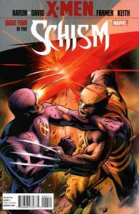 X-Men: Schism #4 VF/NM; Marvel | save on shipping - details inside