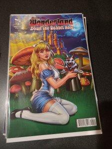 Grimm Fairy Tales presents Wonderland: Down the Rabbit Hole #4 (2013)