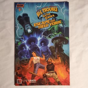 Big Trouble in Little China Escape From New York 1 Very Fine