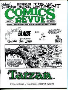 Comics Revue #104 1994-Russ Mannning-Spider-man-Modesty Blaise-Tarzan-VF
