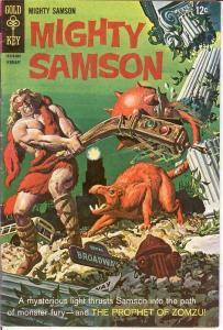 MIGHTY SAMSON 13 VG+  February 1968 COMICS BOOK