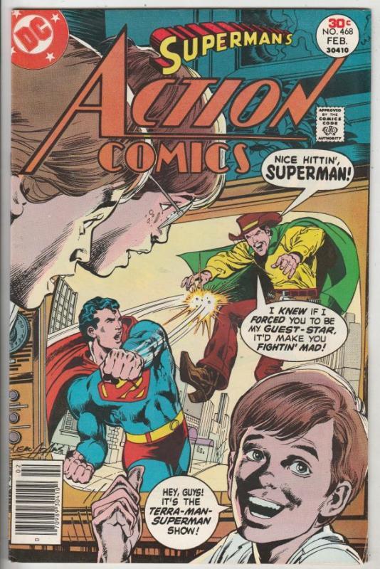 Action Comics #468 (Feb-77) VF/NM High-Grade Superman
