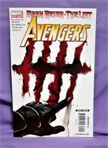 Brian Bendis Dark Reign The List AVENGERS #1 Marko Djurdjevic (Marvel, 2009)!