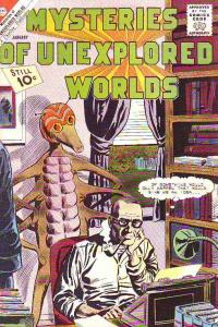 Mysteries of Unexplored Worlds #28 (Jan-62) VF+ High-Grade