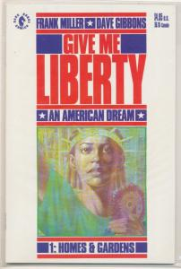 1990 Give Me Liberty #1 1st Appearance Martha Washington Frank Miller DH (HX66)
