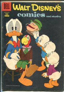 WALT DISNEY'S COMICS AND STORIES #207 1957-MICKEY-DONALD-CARL BARKS-vg