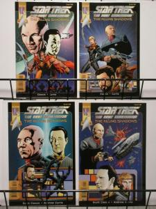 STAR TREK NEXT GENERATION KILLING SHADOWS (2000 WS) 1-4