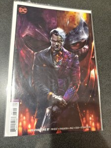 DC Deathstroke #37 VIRGIN VARIANT Francesco Mattina HOT COVER