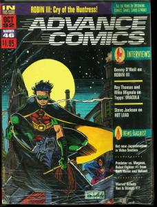 Advance #46-1992-ROBIN cover by Tom Lyle--SEALED