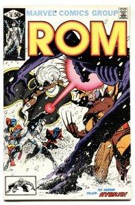 ROM #18 Wolverine - X-Men -MARVEL 1981-Comic Book VF/NM
