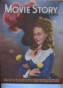 Movie Story-Paulette Goddard-House Of Dracula-John Carradine-Jan-1949
